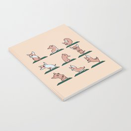 Chihuahua Yoga Notebook