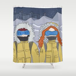 the day after tomorrow Shower Curtain