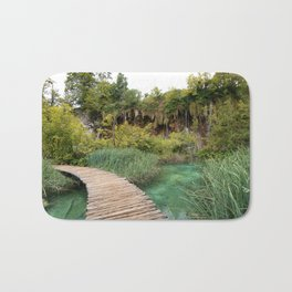 guided relaxation Bath Mat