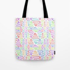 Neon Pillar Tote Bag