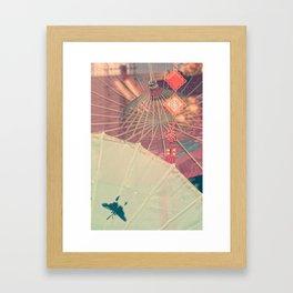 Chinese Shop Display (vertical) Framed Art Print