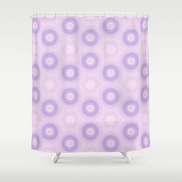Fractal Cogs n Wheels in DPA 01 Shower Curtain