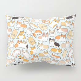 Corgilicious Corgi Doodle Pillow Sham