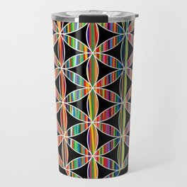 Flower of Life Colored | Kids Room | Delight Travel Mug