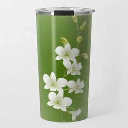 Dendrobium Memoria Princess Diana Travel Mug