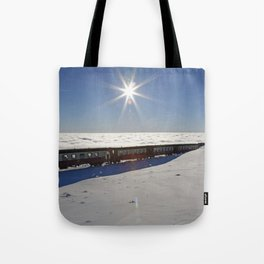 Ride on the clouds Tote Bag