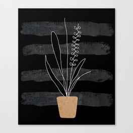Scandi Plant 2 Canvas Print