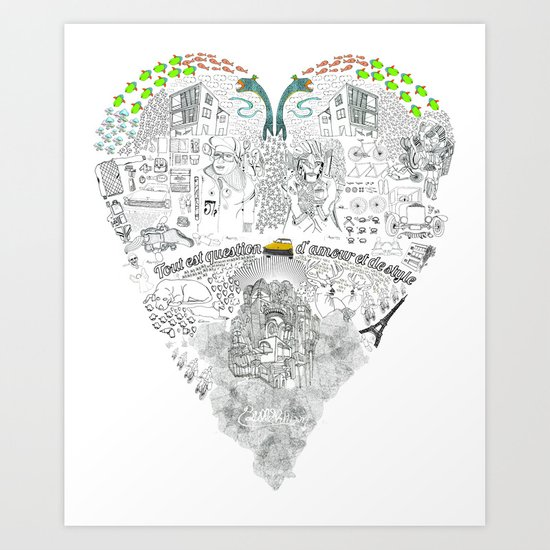 If You dont want it one by one, Get it all in once. Art Print