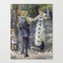 The Swig by Renoir Canvas Print