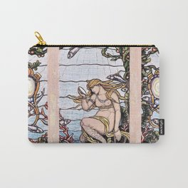 The Mermaid Window - Elihu Vedder Carry-All Pouch
