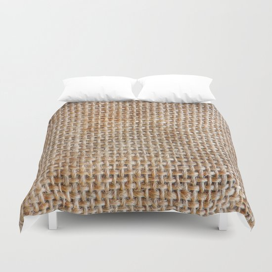 Cotton Canvas Duvet Cover