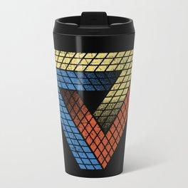 Penrose Puzzle Metal Travel Mug