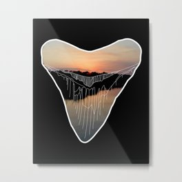Shark Tooth Metal Print