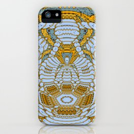 Random Kinetic Colors 77 iPhone Case