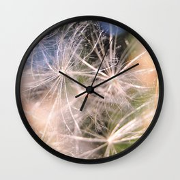 Dandelion Abstract Wall Clock