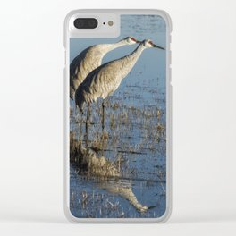 Craning x 2 Clear iPhone Case