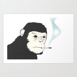 Cigarrette Art Print