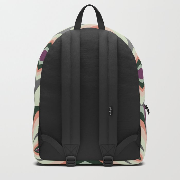 Contemporary Geometric Design Backpack