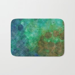 Stepping Into Unrecognizable Territory Bath Mat