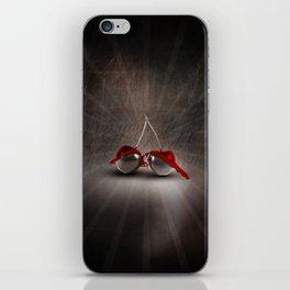 Cherry Splash iPhone Skin