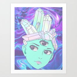 The Divine Art Print