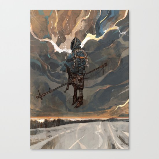 WARLOCK Canvas Print
