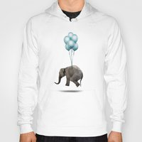 dumbo Hoodies featuring Dumbo by Vin Zzep