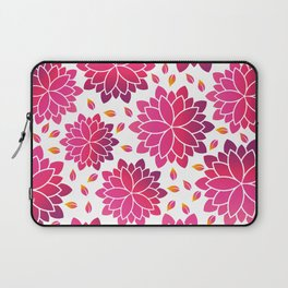 Lotus Flowers Layout Laptop Sleeve