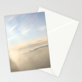 floating on the sky Stationery Cards