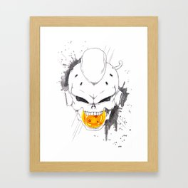 Death Crew - Kid Buu Framed Art Print