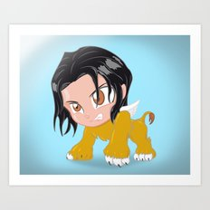 ✩ Sphinx SD Art Print