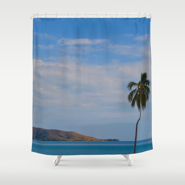 Caribbean Colors Shower Curtain By Isadorafatima