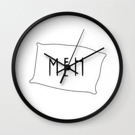 meh Wall Clock