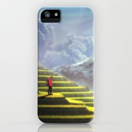 Fantasy Landscape Adventure iPhone Case