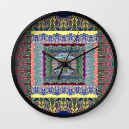 Behold Geometry of Infinity Wall Clock