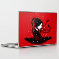 poetry Laptop & iPad Skins featuring Geiko Poetry by Pigboom Art