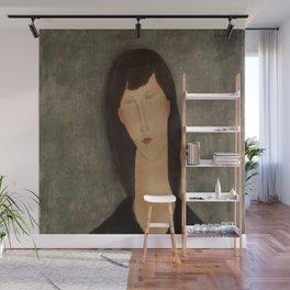 "Amedeo Modigliani ""Bust of a Woman"" Wall Mural"