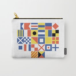 Nautical Flags Carry-All Pouch