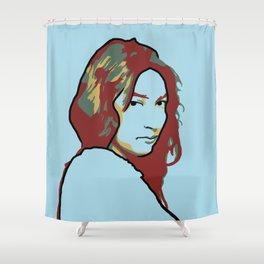 Zitkala-Sa Shower Curtain