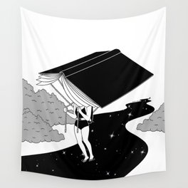 Reading saves lives Wall Tapestry