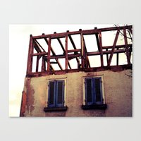 building Canvas Prints featuring Building by PerfectPixel