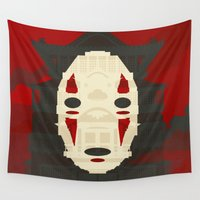 spirited away Wall Tapestries featuring Spirited by Danny Haas