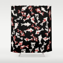 Koi pond #7 Shower Curtain
