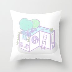 Casita I Throw Pillow
