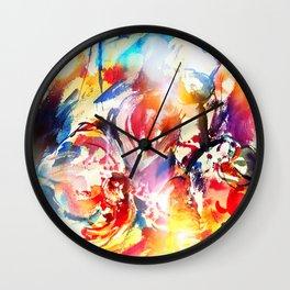 Smiling dragon Wall Clock