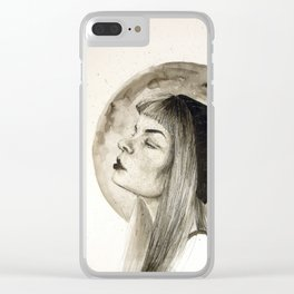 Love Spills Clear iPhone Case