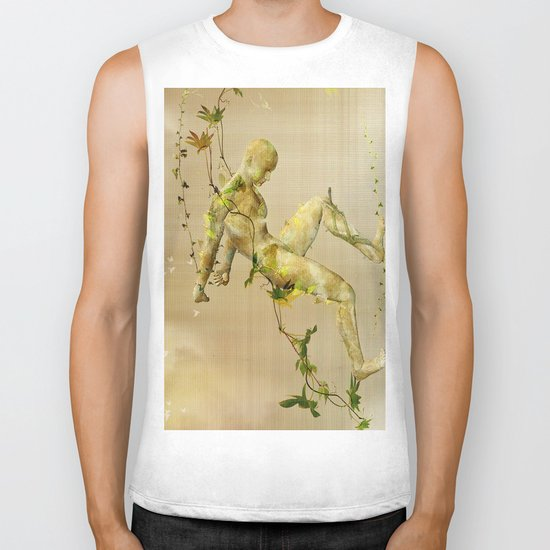 The man vegetable Biker Tank