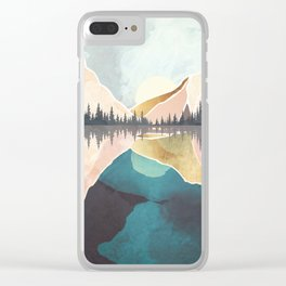 Summer Reflection Clear iPhone Case