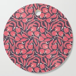 Red chili peppers Cutting Board