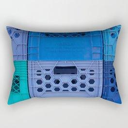 Milk Crates Rectangular Pillow
